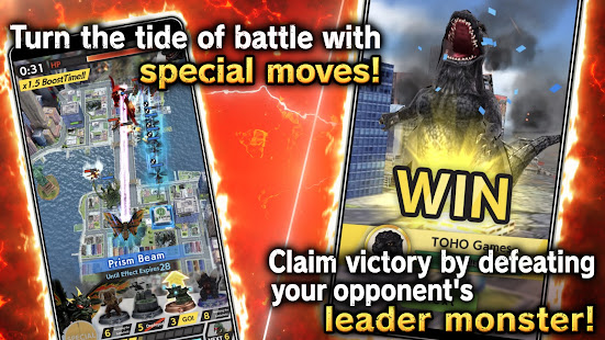 Mod Game GODZILLA BATTLE LINE for Android