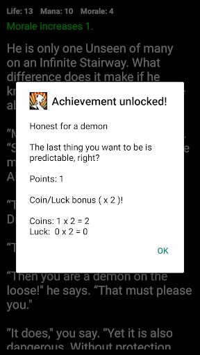Demon's Choice: Choices Game RPG 4.6 screenshots 4
