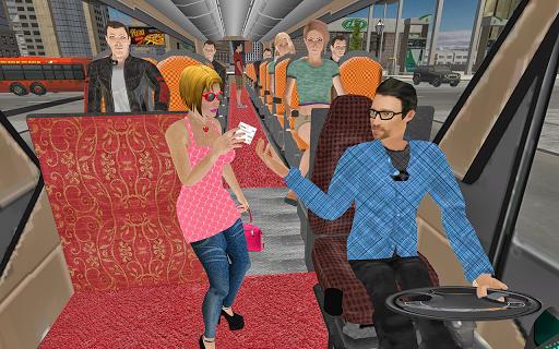 Public Coach Transport: Bus Driving Simulator android2mod screenshots 5