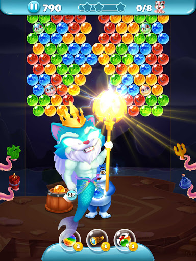 Cat Pop Island: Bubble Shooter Adventure 8.5 screenshots 24