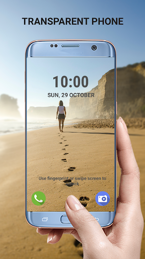 Transparent phone. Livecam Wallpaper 3.0 Screenshots 1