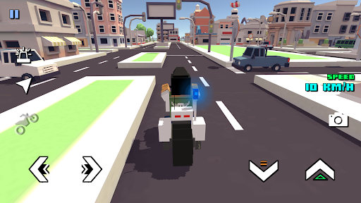 Blocky Moto Racing ud83cudfc1 - motorcycle rider  Screenshots 20