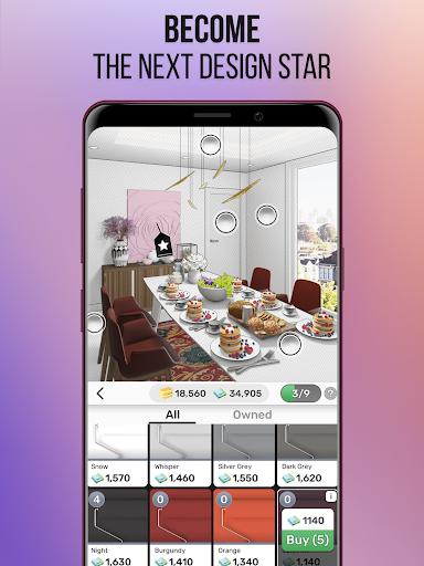 Home Design Star : Decorate & Vote 1.3.3 screenshots 10
