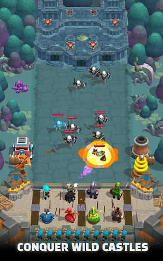 Wild Castle TD: Grow Empire Tower Defense in 2021 1.2.4 Screenshots 6
