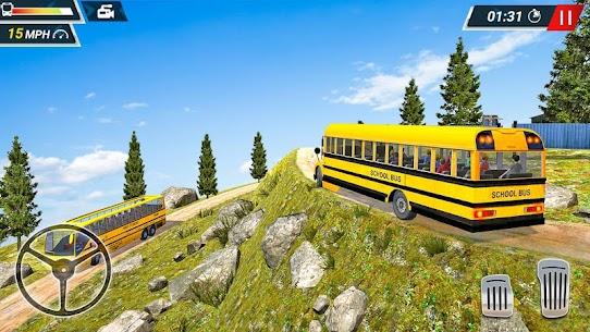 Offroad High School Bus Simulator Free 6