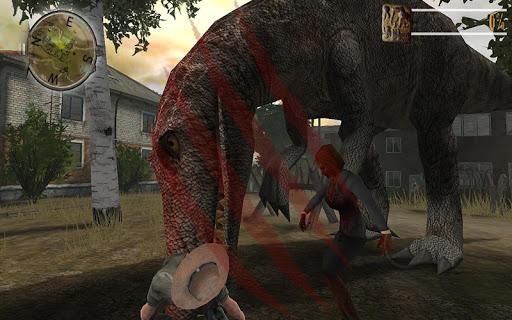 zombie fortress evolution: dino screenshot 1