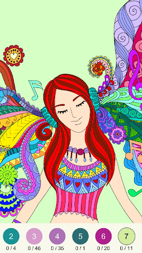 Wonder Color - Color by Number Free Coloring Book 54 screenshots 1