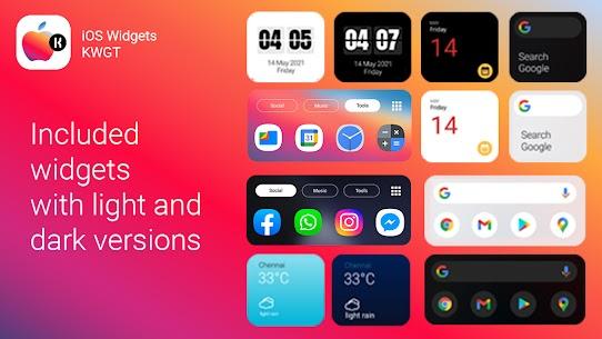 iOS Widgets KWGT🔥 (MOD APK, Paid) v2021.May.19.21 2
