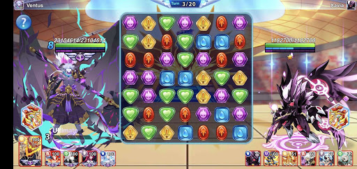 Monsters & Puzzles: Battle of God, New Match 3 RPG apkpoly screenshots 14