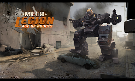Mech Legion: Age of Robots Screenshot
