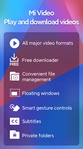 Mi Video - Play and download videos  screenshots 1