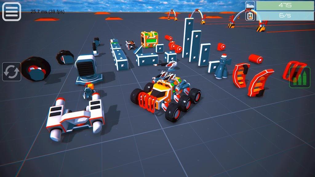 Block Tech : Tank Sandbox Craft Simulator Online  poster 23