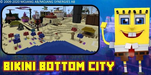 Bikini Bottom City Craft Map 7.0 screenshots 23