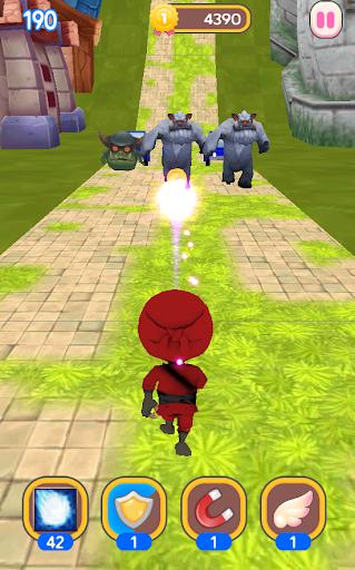 Ninja Hero Run apkdebit screenshots 1