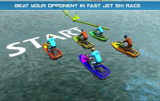 Power Boat Jet Ski Simulator: Water Surfer 3D apktram screenshots 13
