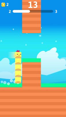 Stacky Bird: ハイパーカジュアルフライングバーディーゲームのおすすめ画像2