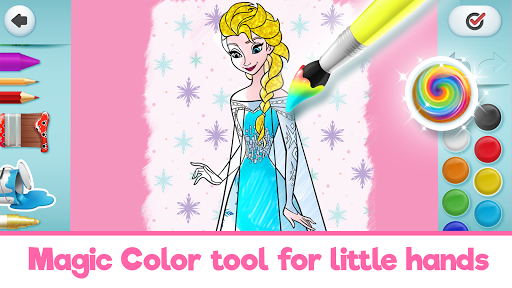 Disney Coloring World - Color & Play Kids Games 7.1.0 screenshots 14