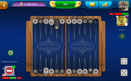 Backgammon LiveGames - live free online game 4.01 screenshots 15