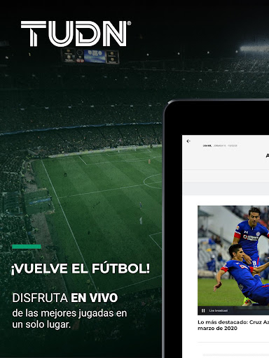 TUDN: Univision Deportes Network 12.2.4 Screenshots 9
