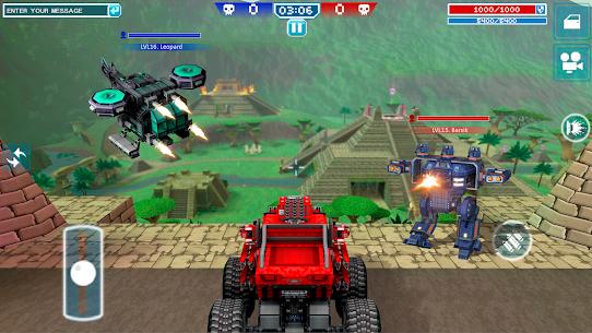 Blocky Cars – pixel shooter, tank wars 2