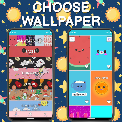 Cute Wallpapers ud83dudc9c Kawaii 4.2101.2 Screenshots 1