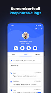 Covve: Stay in Touch with your contacts