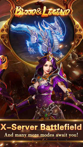 Blood & Legend:Dragon King League mobile idle game https screenshots 1