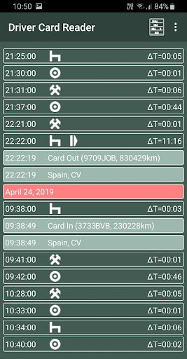 Driver Card Reader  Screenshots 11