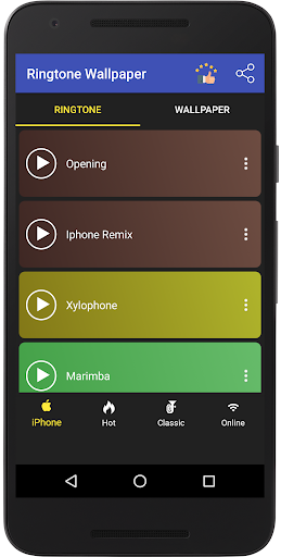 Ringtone for Iphone  Screenshots 1