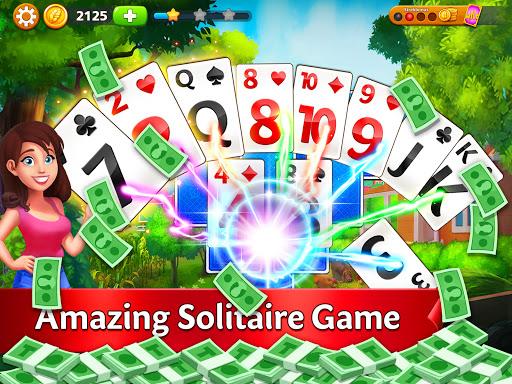 Solitaire Garden - TriPeaks Story 1.8.1 screenshots 11