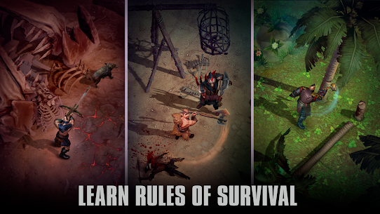 Exile Survival: Survival Game, Crafting & Building 4