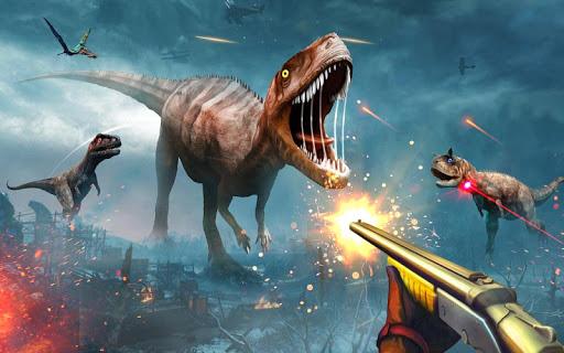 Angry Dinosaur Hunter : Animal Hunting Games  screenshots 4
