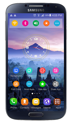 theme for xiaomi mi 10 launcher screenshot 2