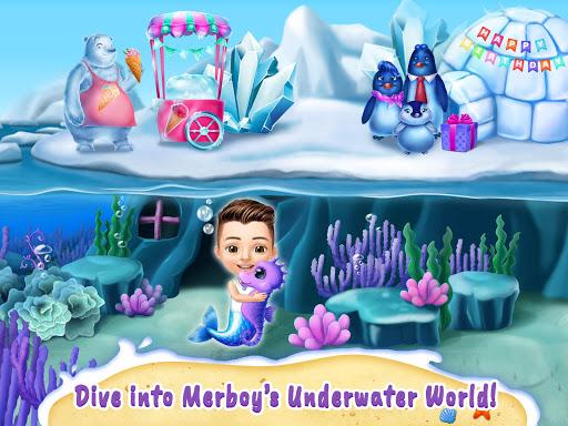 Sweet Baby Girl Mermaid Life - Magical Ocean World apkmr screenshots 12