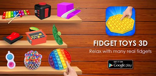 Fidget Toys 3D - Fidget Cube, AntiStress & Calm Versi 1.1.21