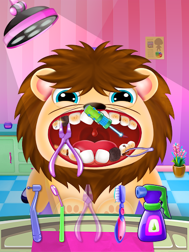 Little Unicorn Pet Doctor Dentist 6 screenshots 9