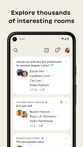Clubhouse: The Social Audio App apktram screenshots 1