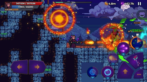 Moonrise Arena - Pixel Action RPG android2mod screenshots 1