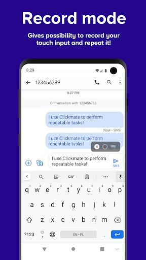 Clickmate - Macro Touch Repeat, Autoclick [NOROOT]  Screenshots 3