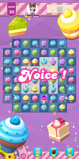 Kwazy Cupcakes : Free Match 3 Puzzle Game 3.8.0 screenshots 6
