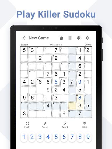 Killer Sudoku - Free Sudoku Puzzles+ 1.3.0 screenshots 8