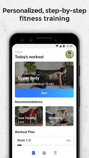 fizzup - online fitness & nutrition coaching screenshot 1