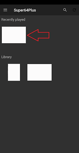 Super64 Plus (n64emulator)  Screenshots 3