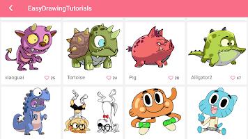Learn to Draw Cartoon with Tutorial - DrawShow Kid