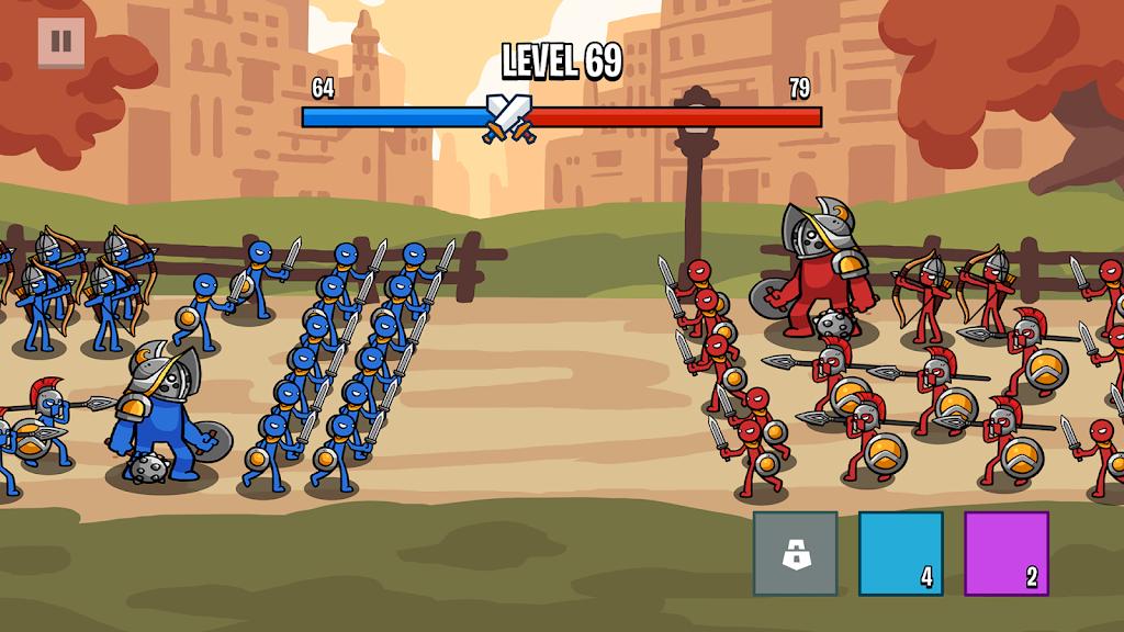 Stick Wars 2: Battle of Legions  poster 1