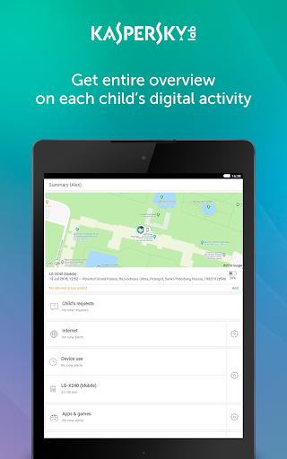 Parental Control & Kids GPS: Kaspersky SafeKids  screenshots 9