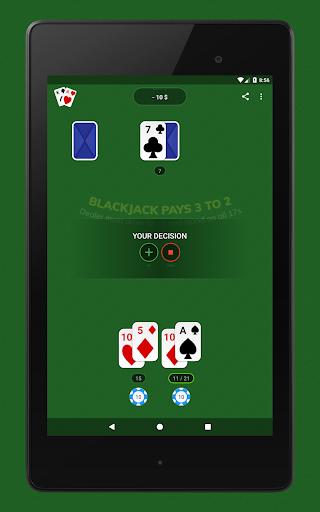 Blackjack - Free & Offline 1.7.1 Screenshots 14