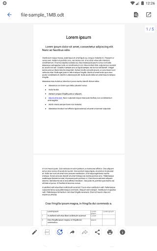 Open Office Viewer - Open Doc Format & PDF Reader apktram screenshots 11