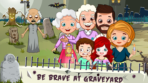 Mini Town: Horror Granny House Scary Game For Kids 2.2 screenshots 4
