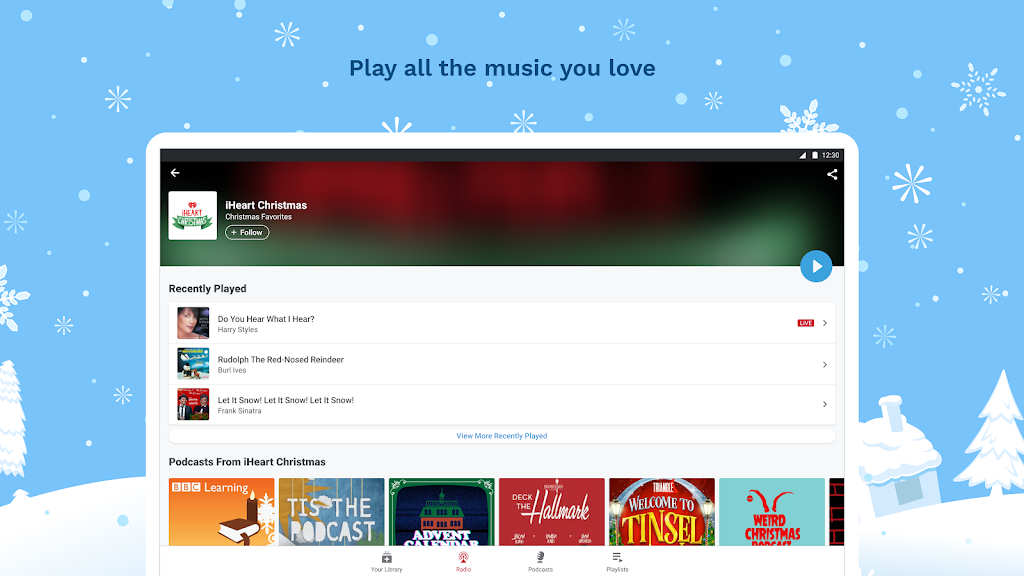 iHeartRadio: Radio, Podcasts & Music On Demand  poster 9